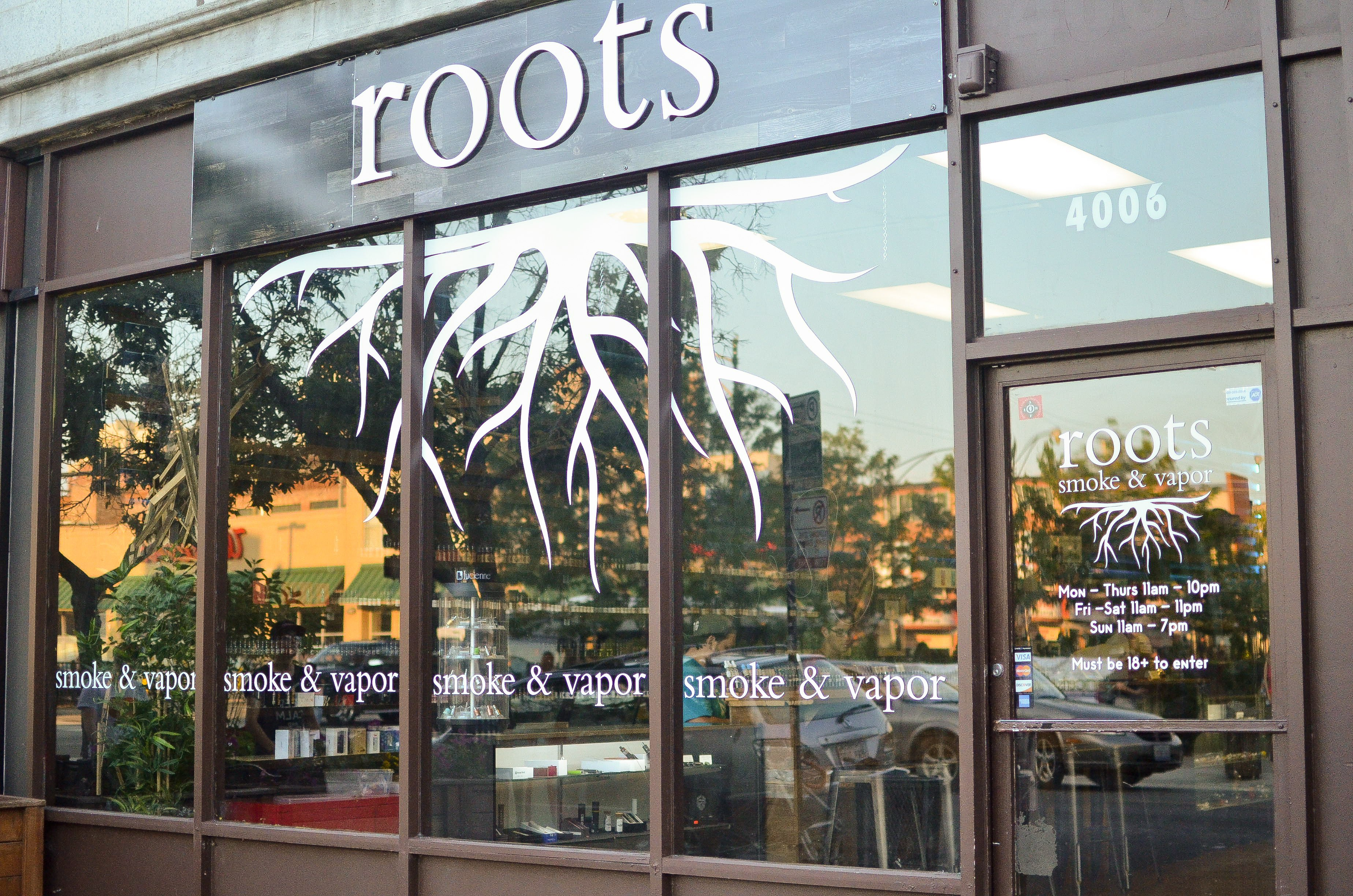 Roots clothing store locations